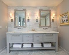 Gray Bathroom Vanity Refined Llc Exquisite Bathroom With Freestanding Gray Double Sink