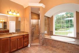 one story home with bonus room holly springs new homes stanton barrel vaulted alcove tub in the his and hers master bathroom
