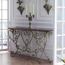 narrow metal console table we love bastille french style narrow console table make it shab