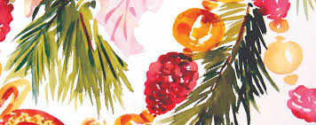 holiday cards in watercolor marie selby botanical gardens