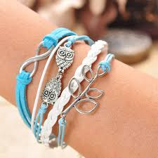infinity charm bangle bracelet images New jewelry fashion lots style leather cute infinity charm JPG