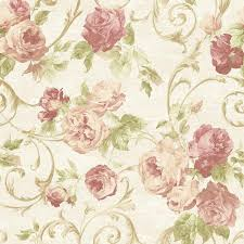 pattern wallpaper sirpi rose flower pattern wallpaper floral glitter motif italian