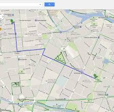 Googlle Maps Kartendienst Google Maps Lotst Radfahrer Durch Deutschland Welt