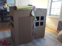 four cardboard house appleketchup