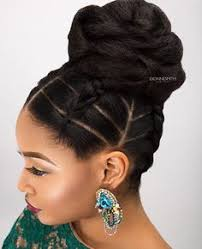 black hair buns creative braided bun via ezbeautified read the article here