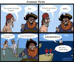 You Are A Pirate Meme - grammar pirate by scottclarkart on deviantart