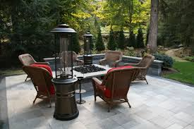 Backyard Bar And Grill West Springfield by Dynamic Umbriano Pavers Pair With Pops Of Color In This Welcoming