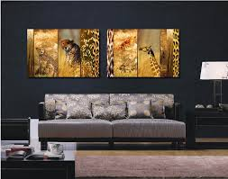 Hanging Art Prints Compare Prices On Leopard Print Artwork Online Shopping Buy Low
