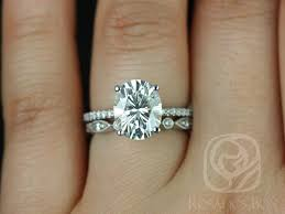 oval wedding rings rosados box darcy 10x8mm original bead eye oval f1 moissanite