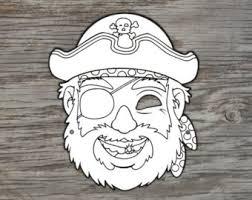 pirate mask etsy