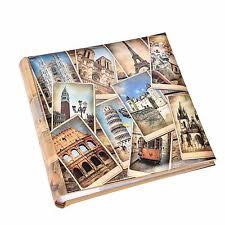 photo albums with memo area travel photo albums boxes ebay