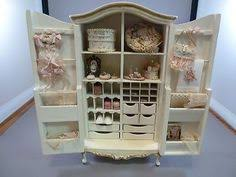 Cinderella Armoire Cinderella Armoire For The Dollhouse Nursery Miniatures