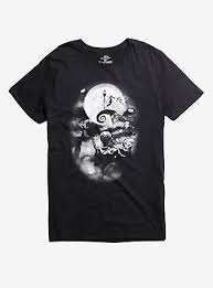 the nightmare before shirts merch topic