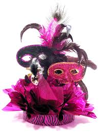 sweet 16 table centerpieces how to make the fabulous feathers sweet 16 masquerade