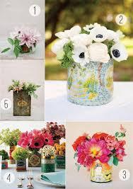 tin can vases for diy floral arrangements stockroom vintage