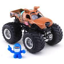 buy wheels monster jam trucks wheels scooby doo die cast truck monster jam figure series