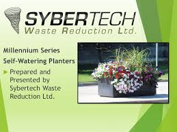 millennium series self watering planters ppt video online download