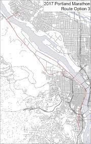 Portland Maps Com by City Proposes 3 Portland Marathon Route Options Maps