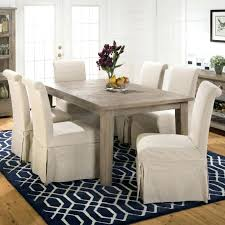 dining table dining room chair slipcovers pattern entrancing