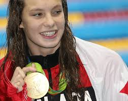 Canada Flag Bearer Penny Oleksiak Named Canada U0027s Athlete Of The Year