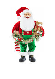 home accents jingle all the way 24 in h juvenile santa decor belk