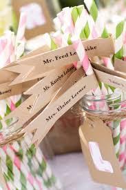unique wedding card place card ideas