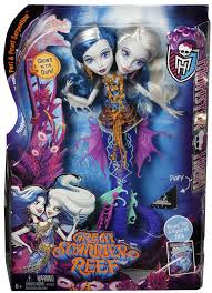amazon com monster high great scarrier reef peri u0026 pearl