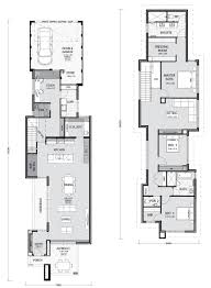 Narrow Block Floor Plans 100 Narrow Lot Home Designs Your Building Broker The