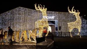 vancouver christmas light maze vancouver enchant christmas light maze 2016 youtube