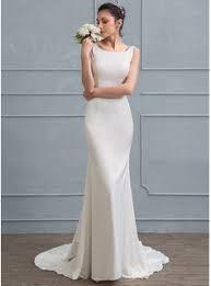 column wedding dresses sheath column square neckline court satin wedding dress with