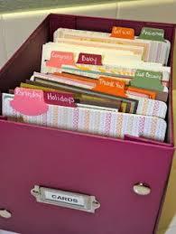 gift card organizer organization greeting cards organize my