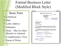 application letter sample modified block style write a research