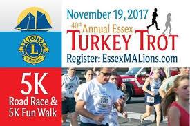 essex turkey trot 5k race walk shore kid and family