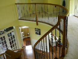 Installing Balusters And Handrails Wood Stairs And Rails And Iron Balusters Iron Balusters Moorestown Nj