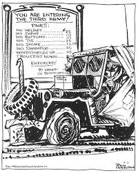 cartoon jeep side view bill mauldin u0027s willie and joe cartoon people mostly admirable