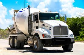 kenworth concrete truck kenworth t370 editorial stock image image of concrete 95320374