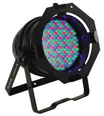 american dj led lights amazon com american dj 64b led pro black can led rgb color mixing