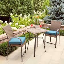Patio Furniture Bistro Set Wonderful Crossman Outdoor Bistro Brilliant Patio Furniture