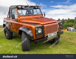 defender land rover 2017 tain scotland june 18 2017 land stock photo 666994204 shutterstock