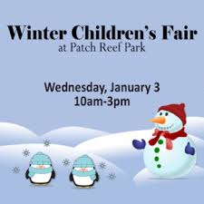 winter children s fair at patch reef park january 3 2018 palm