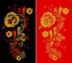 pretty russian ornaments design vector 01 russian