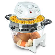 nutrichef pkairfr48 halogen cooking convection oven air fryer