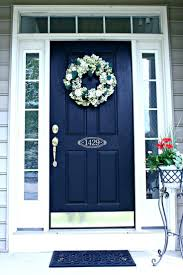 navy front doors colored door homes group security home depot