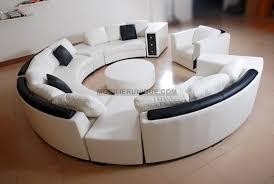 canape angle pas cher design canapé d angle en cuir italien en rond design et pas cher modèle fleur
