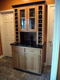 hutch kitchen furniture fivebraids custom woodworking liquor wine hutch