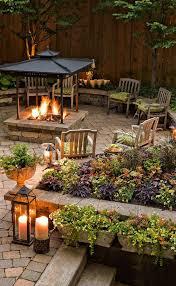 Outdoor Backyard Ideas by Top 25 Best Rustic Backyard Ideas On Pinterest Picnic Tables