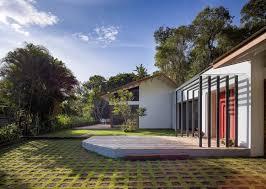 4 Level Split House This Sprawling Residence In Goa Wraps Around A Split Level