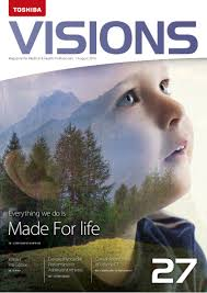 toshiba u0027s visions magazine issue 27