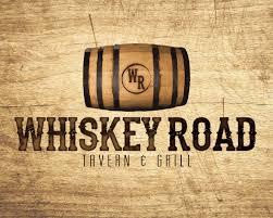 s restaurant cedar falls logo design for whiskey road an fusion restaurant and