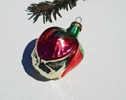 vintage mercury glass ornaments etsy